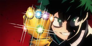 My Hero Academia Vengadores