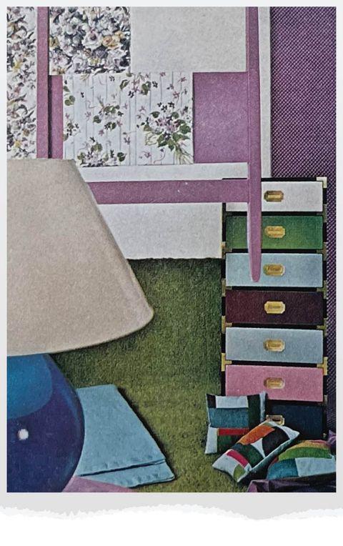 purple girl's room