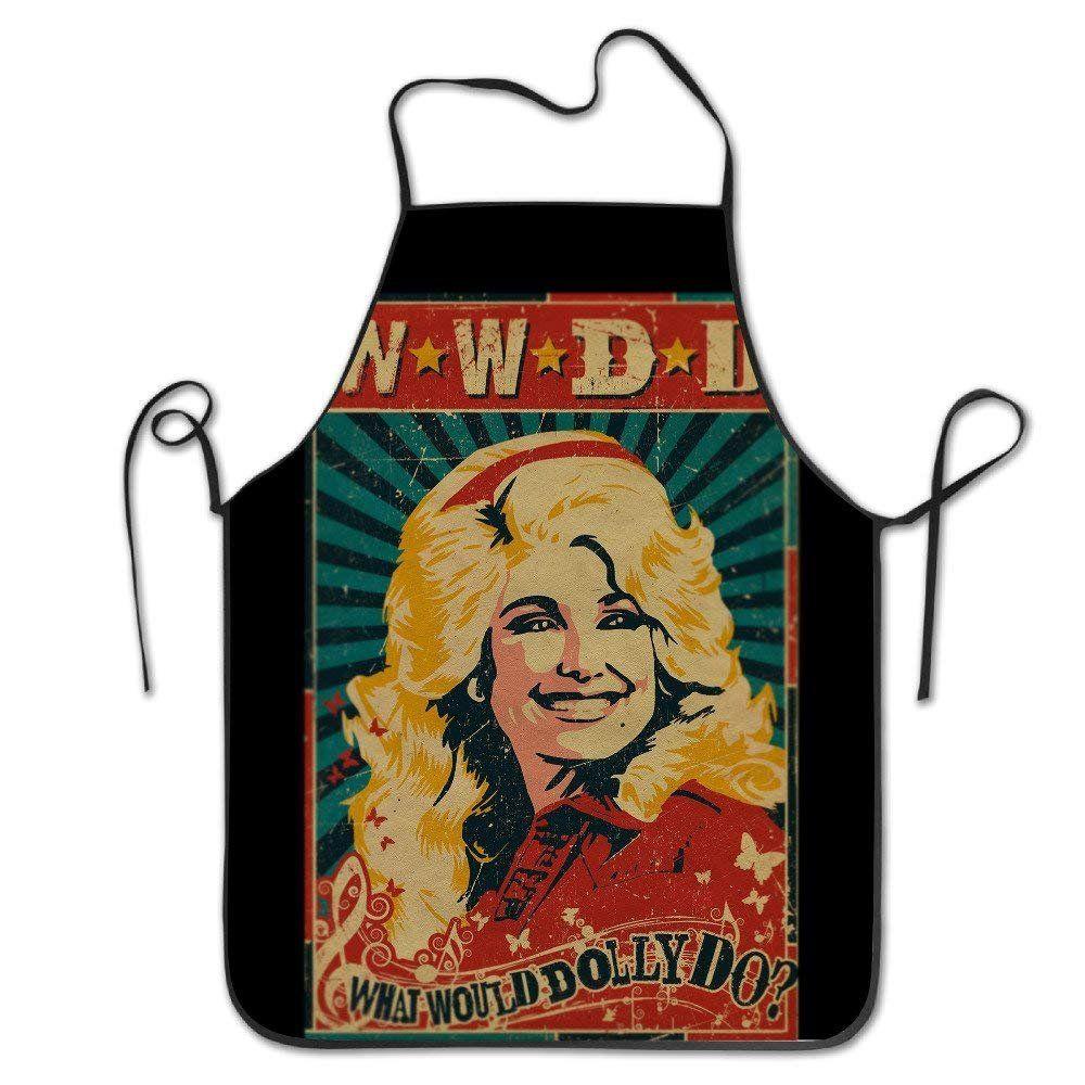 Delantal de cocina de Dolly Parton