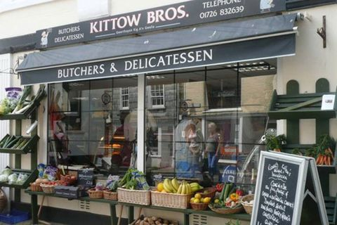 Traditional Cornish butcher and deli Kittows of Fowey