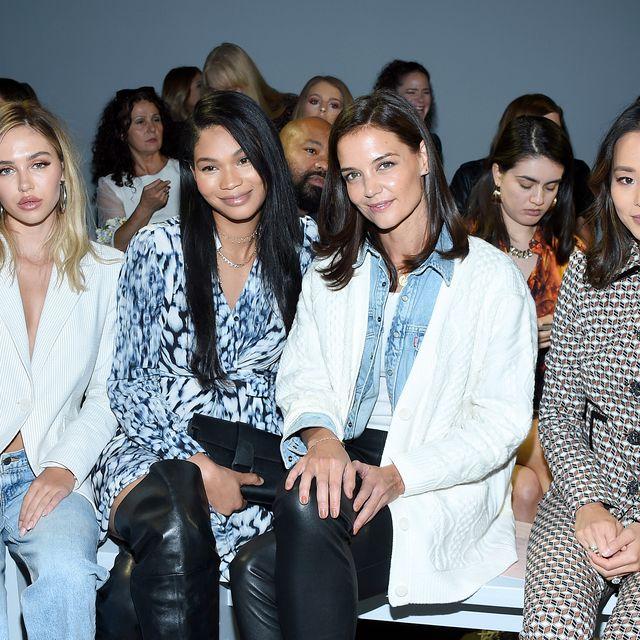 2020 New York Fashion Week.Celebs Sitting Front Row At New York Fashion Week Spring