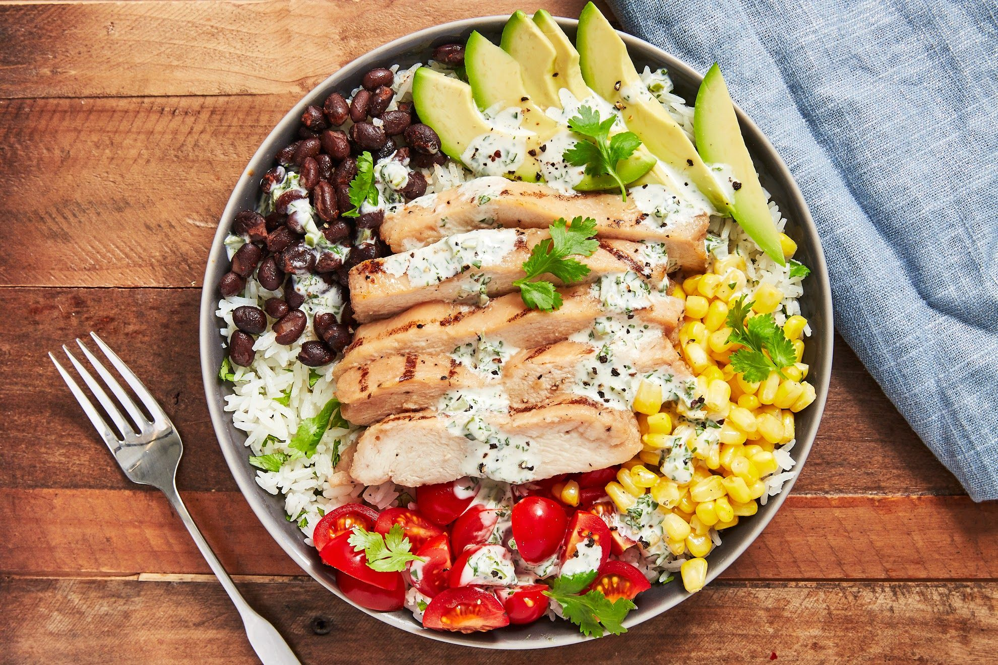 Image result for Chicken rice bowl