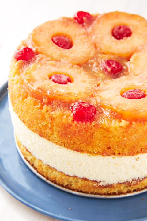 Pineapple Upside Down Cheesecake - Delish.com