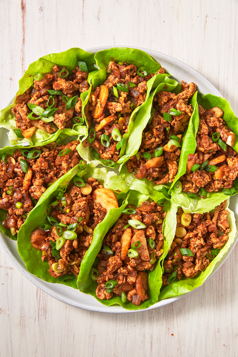 Asian Chicken Lettuce Wraps - Delish.com