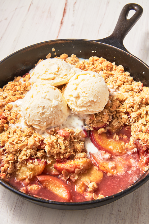 peach crisp   delishcom
