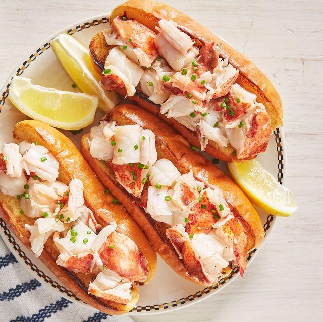 Dish, Food, Cuisine, Ingredient, Produce, Sandwich, Staple food, Finger food, Lobster roll, Seafood,