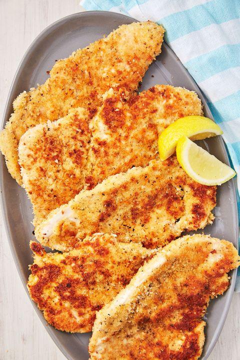 parmesan chicken cutlets   delishcom