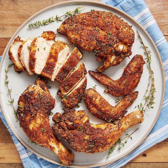 Air Fryer Rotisserie Chicken - Delish.com