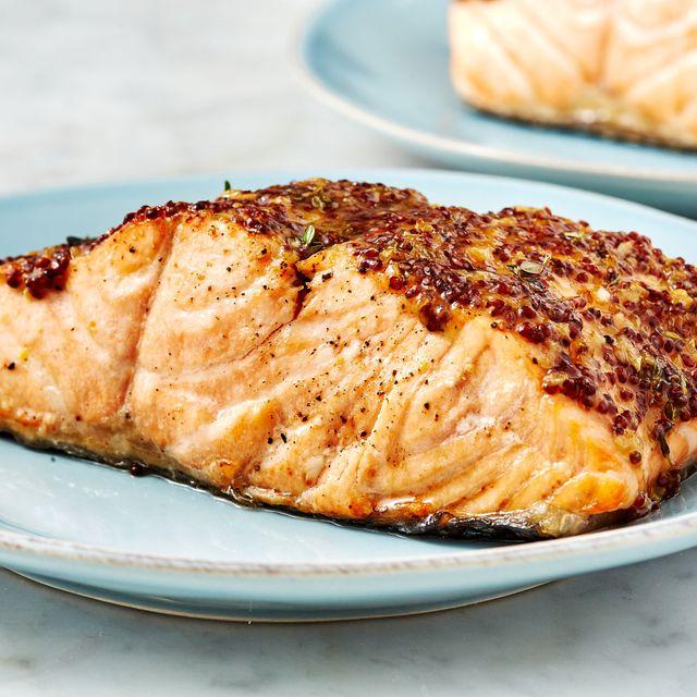 air fryer salmon   delishcom