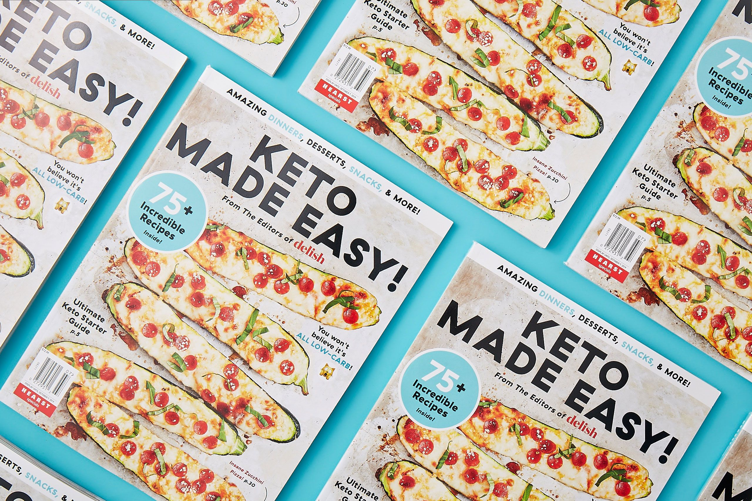 If You're Going Low-Carb, You Need Our New Easy Keto Bookazine