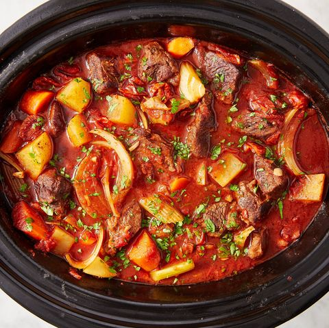 Best Slow Cooker Beef Stew Recipe How To Make Easy Crock Pot Beef Stew With Red Wine