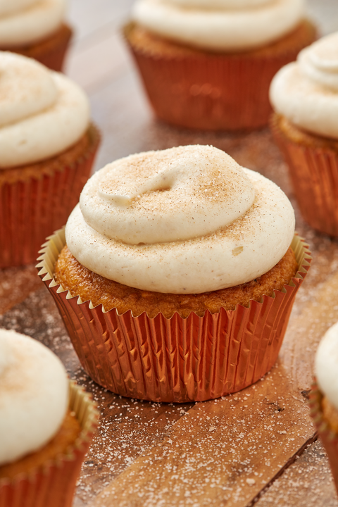 Pumpkin Spice Cupcakes - Delish.com