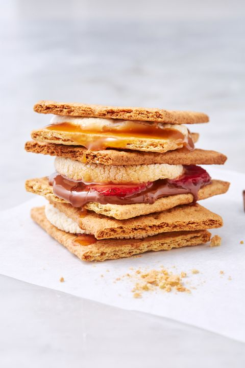 Air Fryer S'mores - Delish.com