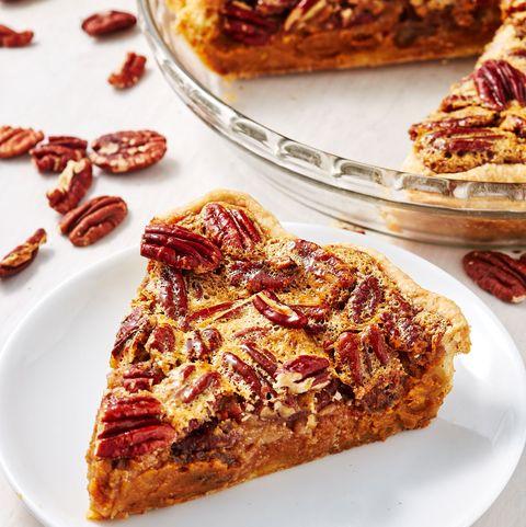 Pumpkin Pecan Pie - Delish.com