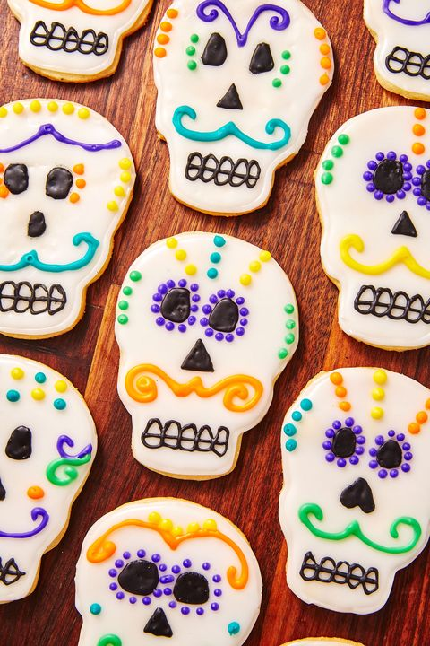 Day of the Dead Cookies - Delish.com