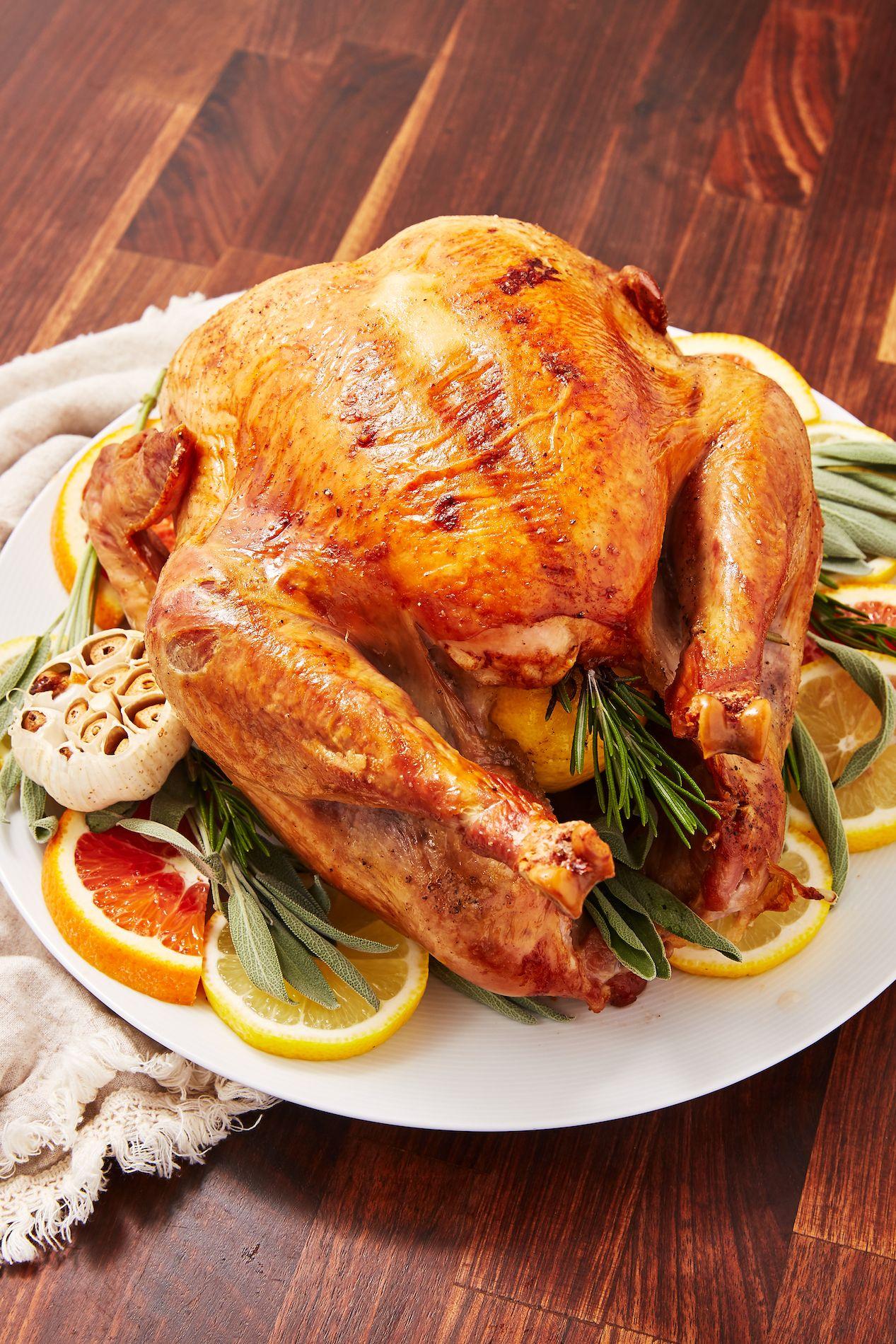 25 Easy Thanksgiving Turkey Recipes Best Roasted Turkey Ideas