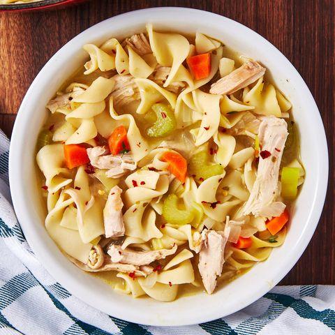 Turkey Noodle Soup - Delish.com