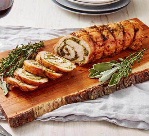 Best Turkey Roulade Recipe How To Make Roasted Turkey Roulade