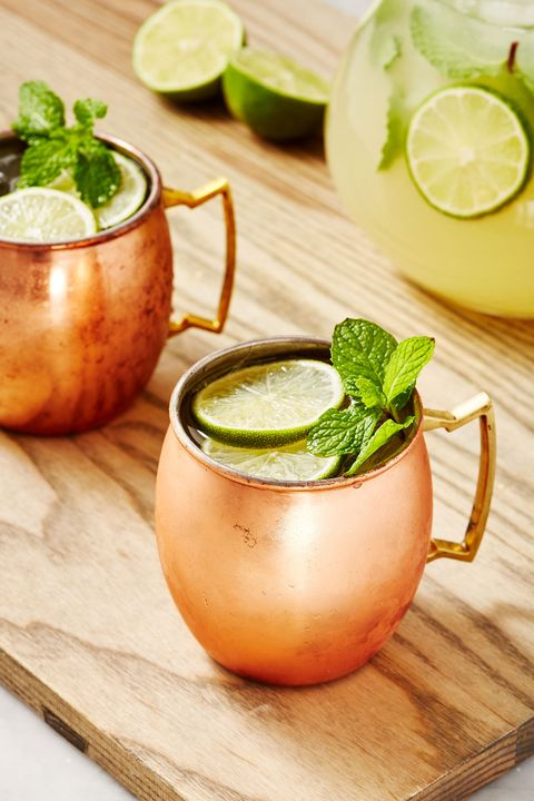 Moscow Mule Punch - Delish.com