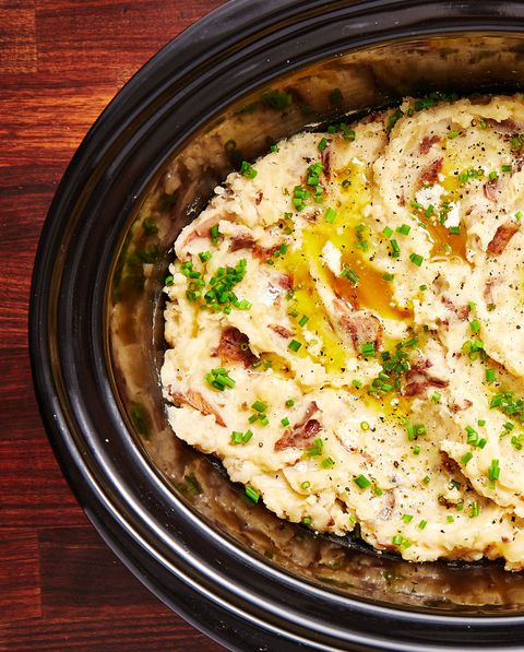Slow-Cooker Mashed Potatoes - Delish.com