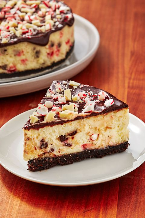 Chocolate Peppermint Cheesecake - Delish.com