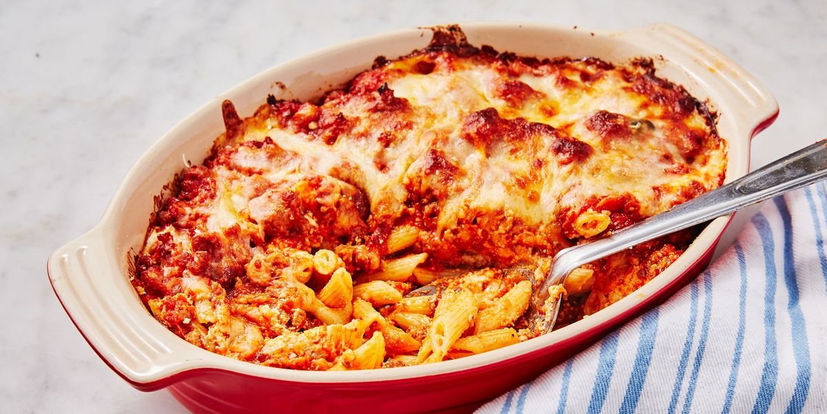 Best Baked Mostaccioli - How to Make Baked Mostaccioli
