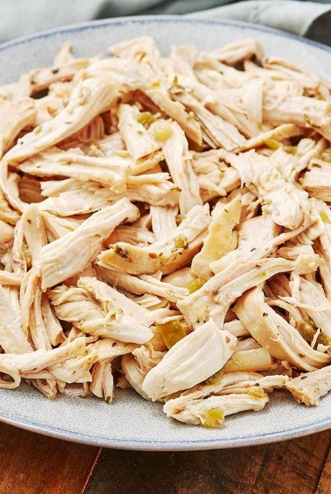 instant pot shredded chicken   delishcom