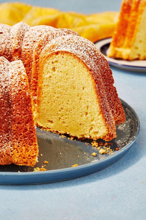 Sour Cream Pound Cake - Delish.com