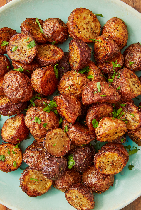Air Fryer Potatoes - Delish.com