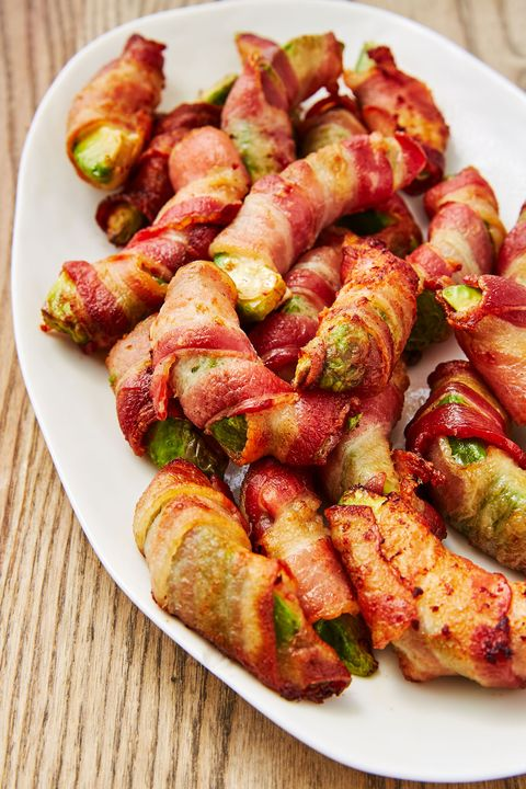 Bacon Wrapped Avocados - Delish.com