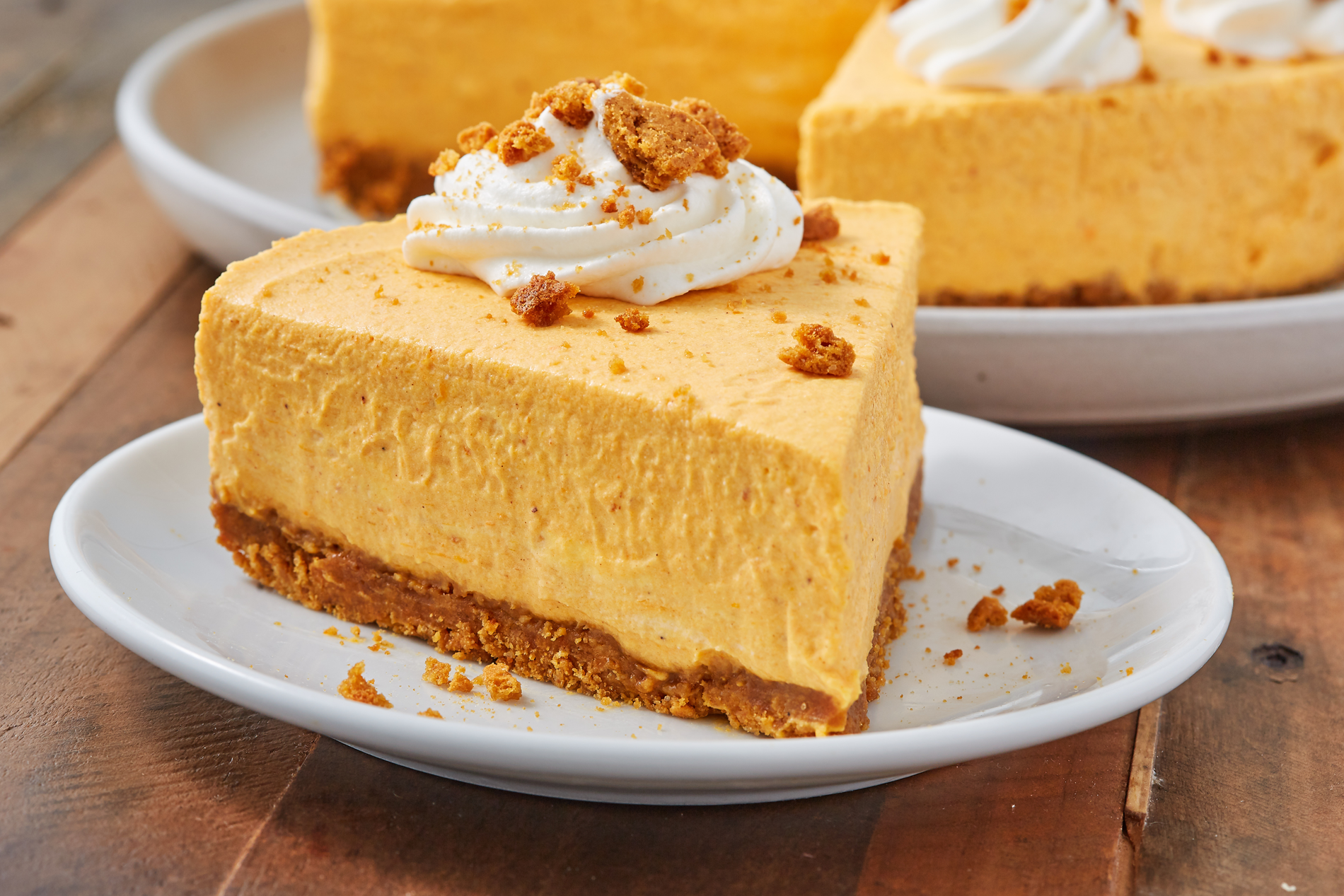 No Bake Pumpkin Cheesecake How To Make No Bake Pumpkin Cheesecake