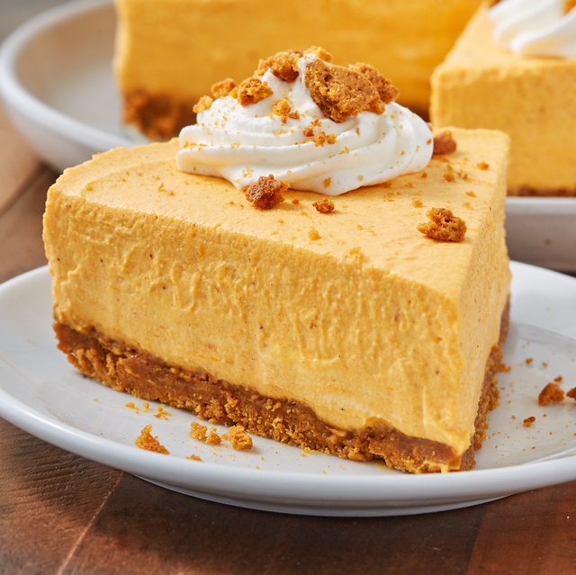 No Bake Pumpkin Cheesecake - Delish.com