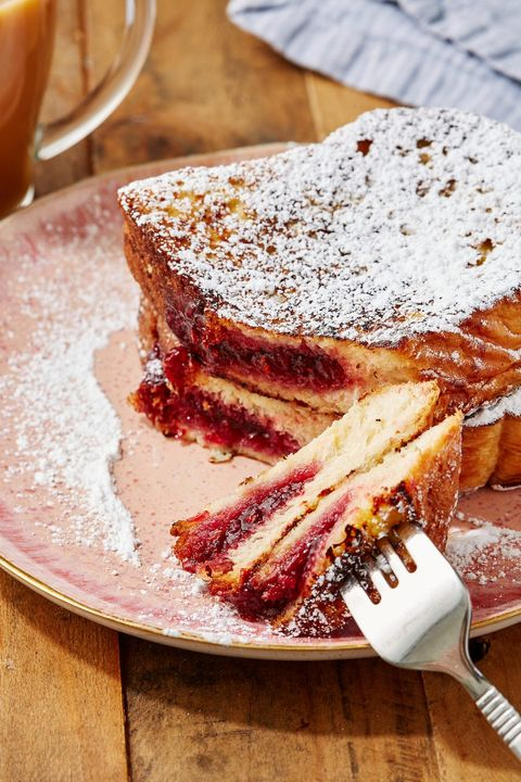 Powdered Donut French Toast - Delish.com