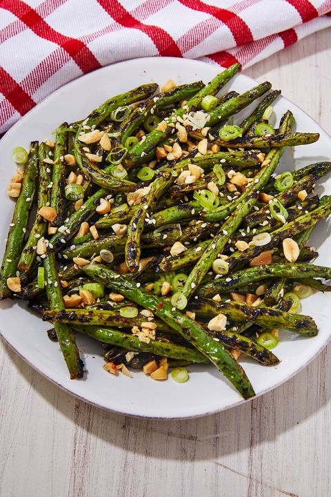 Grilled Green Beans - Delish.com