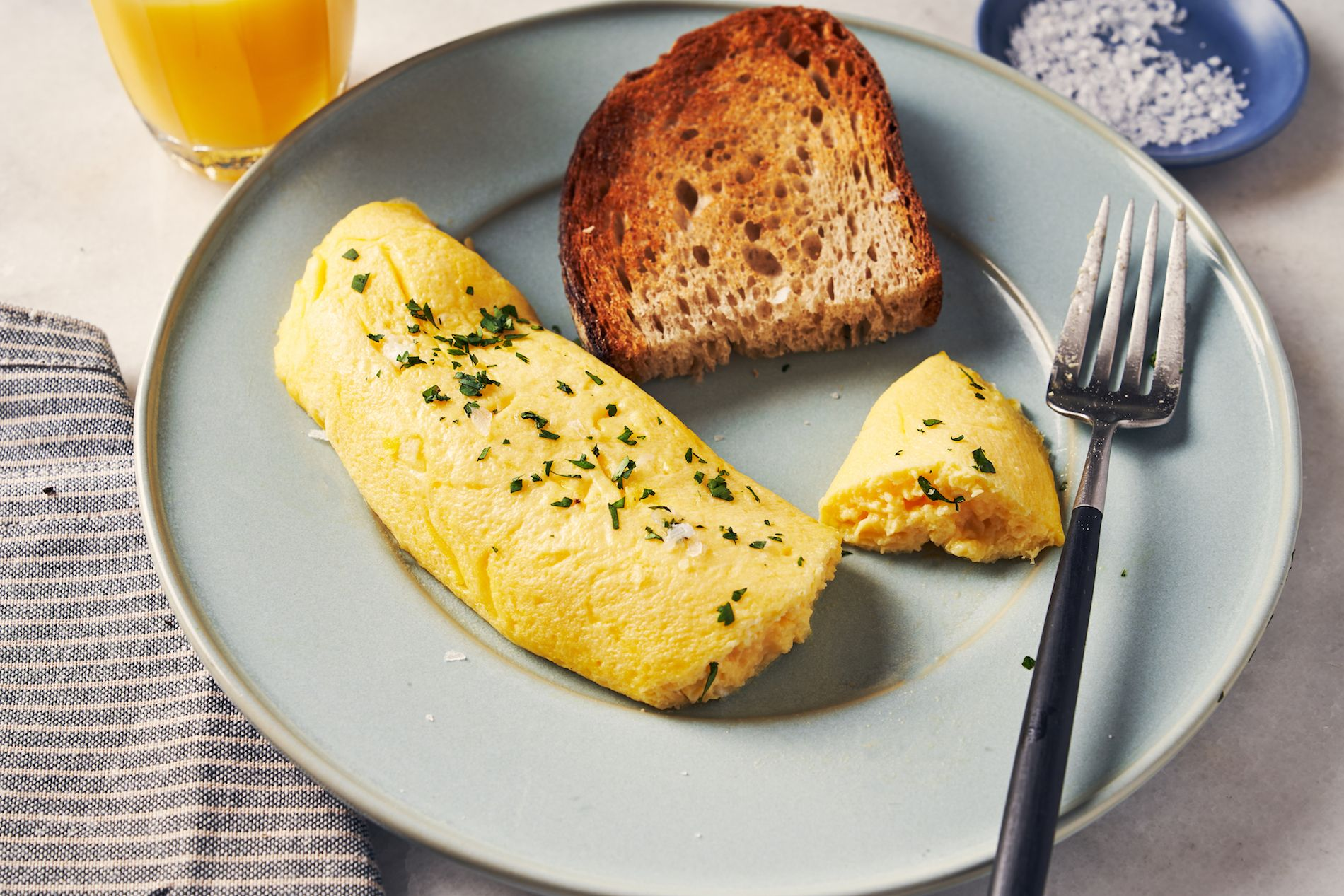 Best French Omelette Recipe How To Make A French Omelette