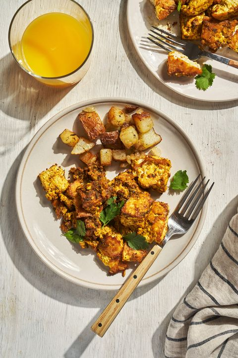 tofu scramble with potatoes