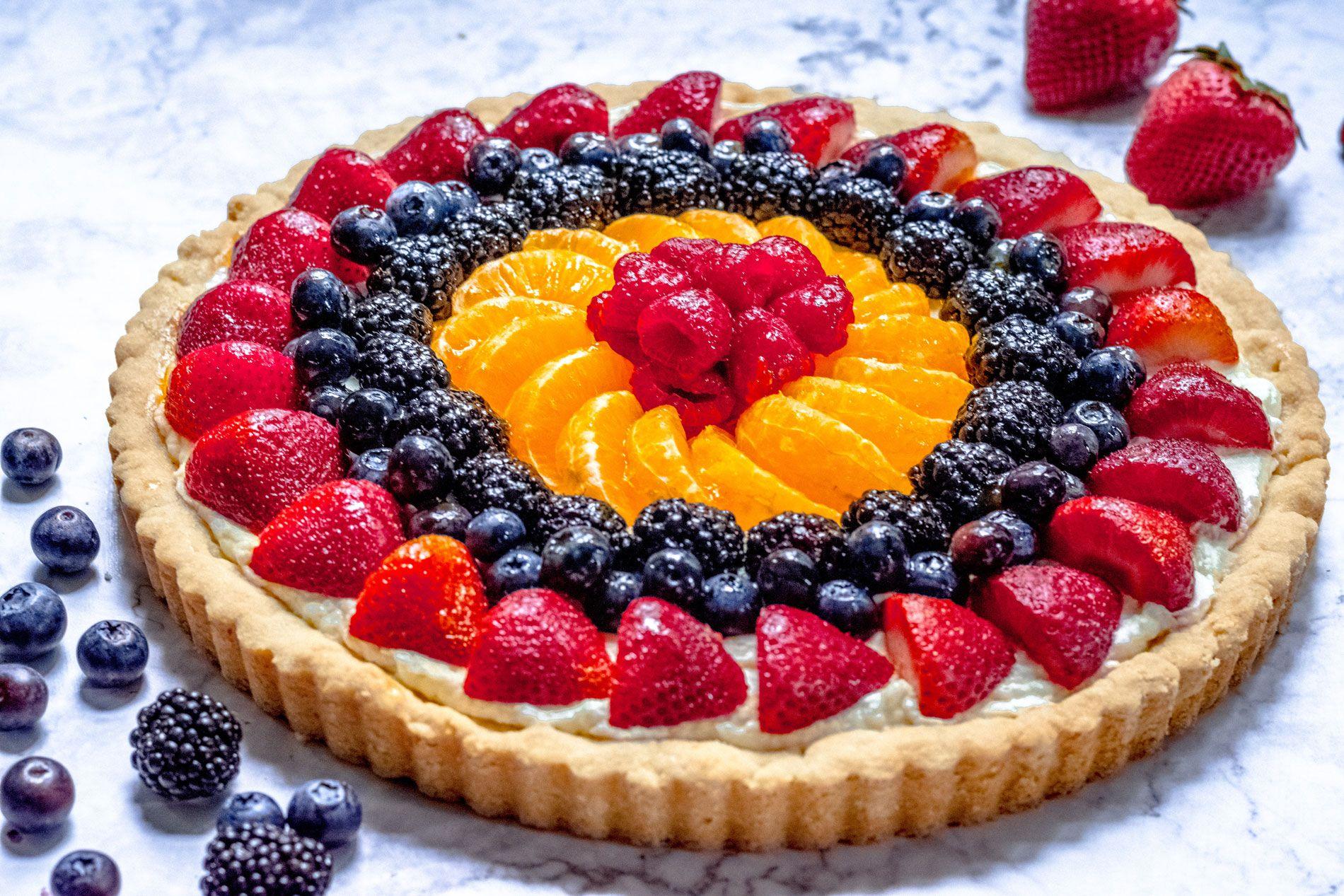 Easy Fruit Tart | Recipe Cart