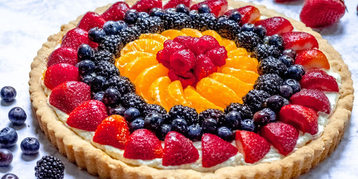 The Perfect Fruit Tart With A Creamy Sweet Filling