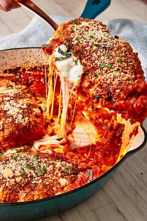mozzarella stuffed chicken parm