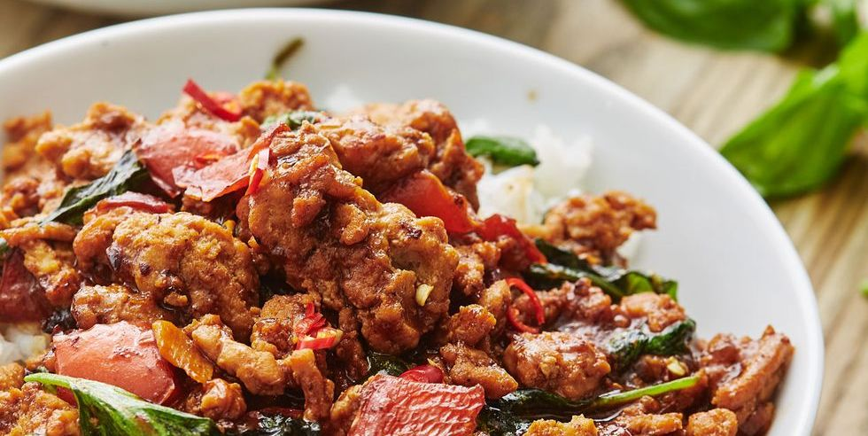 Thai Basil Chicken Is About to Be Your New Favorite Ground Chicken Recipe