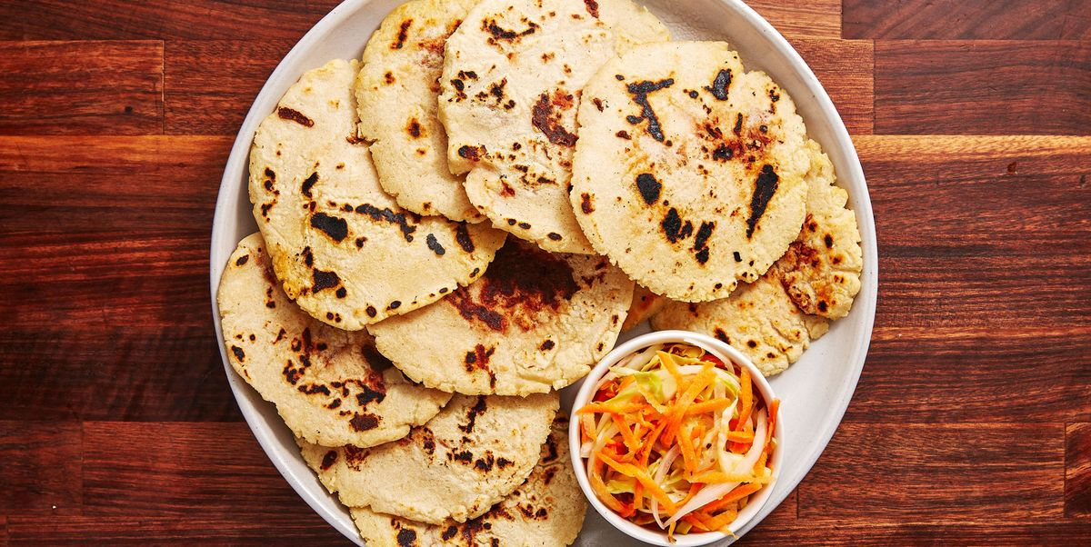 These Pupusa Are Stuffed With Melty Cheese And Refried Beans