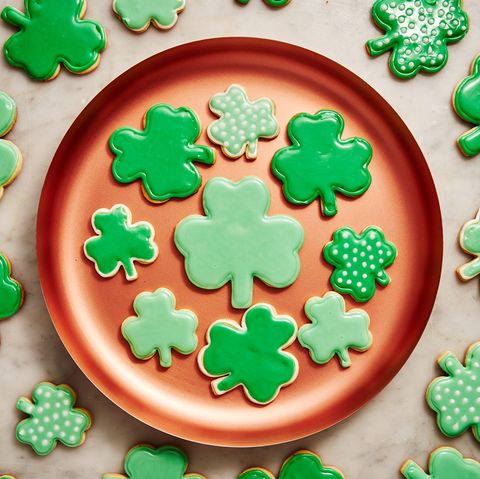 St. Patrick's Day Cookies - Delish.com