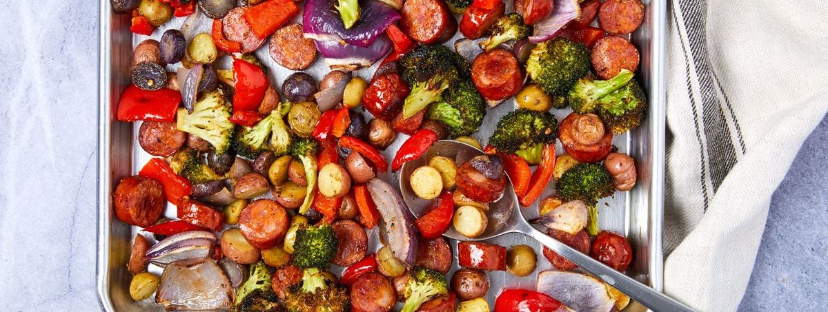Sheet Pan Sausage & Vegetables