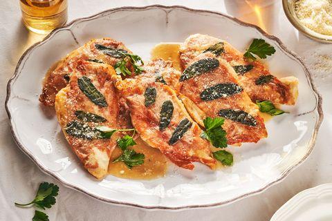 chicken saltimbocca delish
