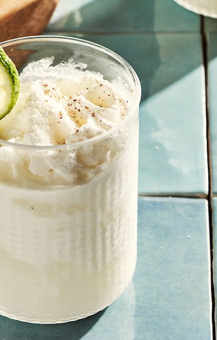 spiked coconut limeade