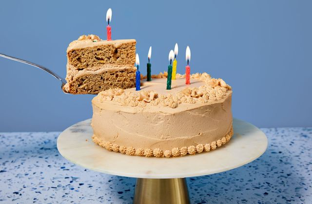 dog birthday cake delish