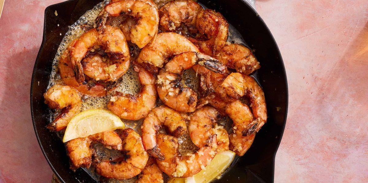 Hawaiian Garlic Shrimp