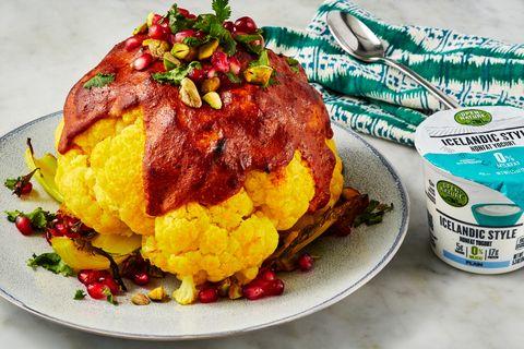 DELISH_Albertson's_Whole-Roasted-Tandoori-Cauliflower_0302_Landscape_PF Delish.com