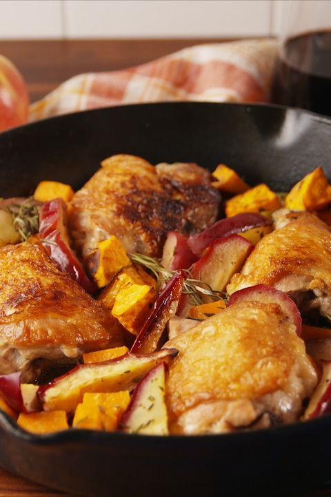 Apple Cider Glazed Chicken