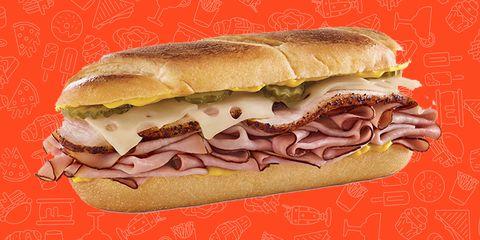 Arby's Cuban Sandwich